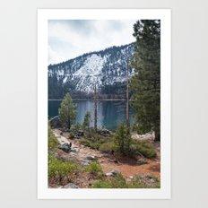 Emerald Bay, Lake Tahoe, California Art Print