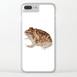 Plump Little Froggy Clear iPhone Case