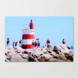 Lighthouse Portugal Canvas Print