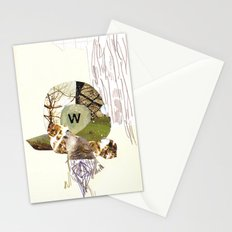 W is for Wolf Stationery Cards