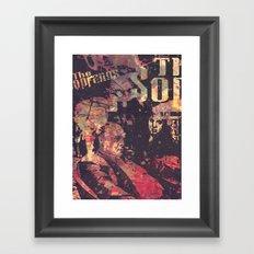 The Sopranos (in memory of James Gandolfini)1 Framed Art Print