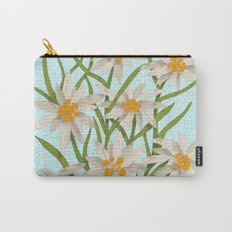 Edelweiss Carry-All Pouch