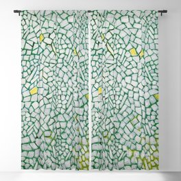 African American Masterpiece White Roses Sing! by Alma Thomas Blackout Curtain