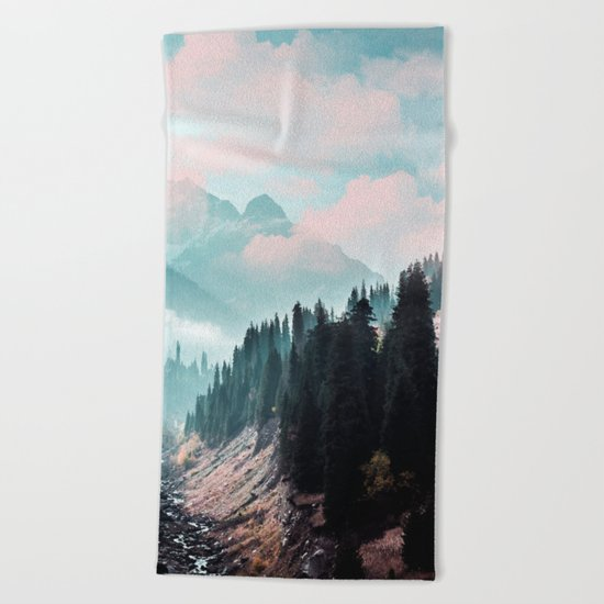 The Juxtaposed Creation #society6 #decor #buyart Beach Towel