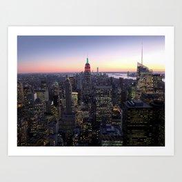 NYC - Skyline Art Print