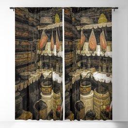 Vintage Pantry Blackout Curtain