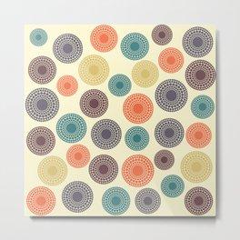 Circles - 6 Metal Print