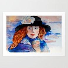 Artist Abroad Art Print