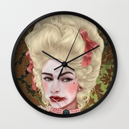 Cake Before Death Wall Clock