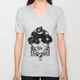 CANDLE IN THE WIND Unisex V-Neck