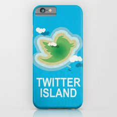 Twitter Island iPhone 6s Slim Case