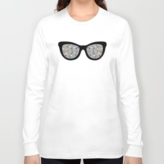 Heart Eyes Long Sleeve T-shirt