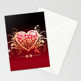 Surely his heart Stationery Cards