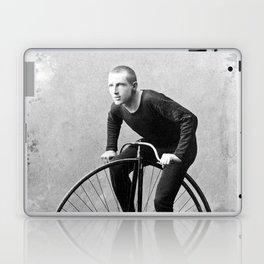 Velocipede racer Laptop & iPad Skin