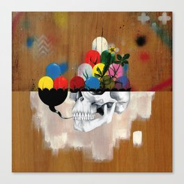 Jelly Full Of Head Canvas Print