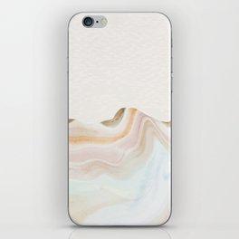 Marbling Mountains iPhone Skin