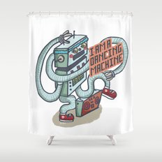 I am a dancing machine Shower Curtain