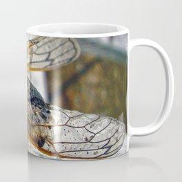 Red Eyed Cicada Coffee Mug
