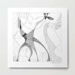 animorph 03 - giraffe Metal Print