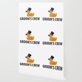 Groom's Crew Rubberducks Gift Wallpaper