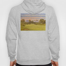 Whistling Straits Golf Course 9th And 18th Hoody