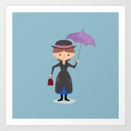 Mary Poppins Art Print