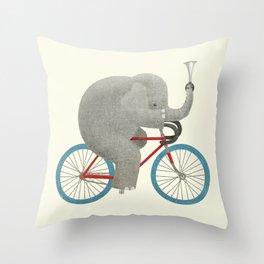 Ride (colour option) Throw Pillow