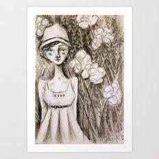 Queenie Art Print