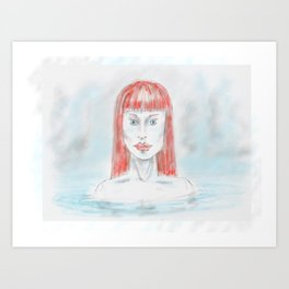 naked1 Art Print