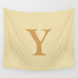 Yellow Bell Wall Tapestry