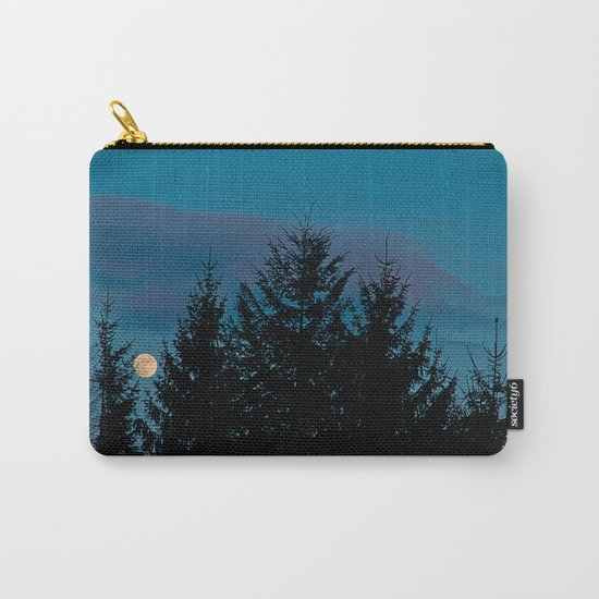 Full moon in the firs Carry-All Pouch