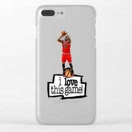 Jimmy Butler Clear iPhone Case