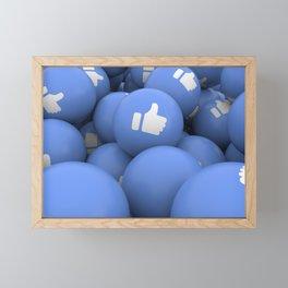 like balls Framed Mini Art Print