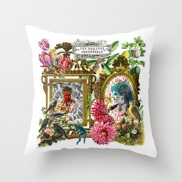 Romance with the Impossible Throw Pillow