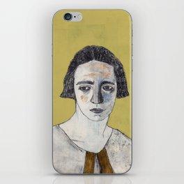 Irène Curie iPhone Skin
