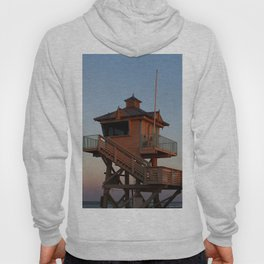 Guard Tower At Dusk Hoody