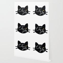 Cat Lady Wallpaper