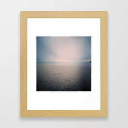 Pinhole Grange Beach Framed Art Print