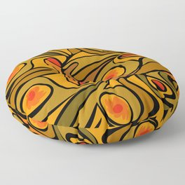 Rooster DeKooning Floor Pillow