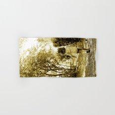 Angel of Hope & Lily Gold Hand & Bath Towel