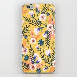 Sunshine florals iPhone Skin