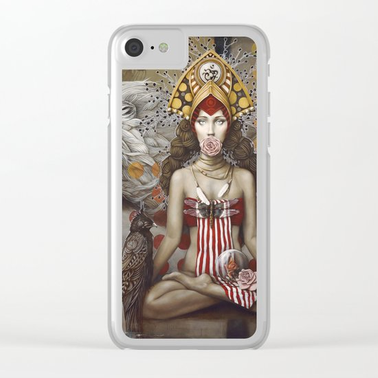 Anastasia Clear iPhone Case