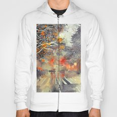 WINTER IN THE CITY Hoody