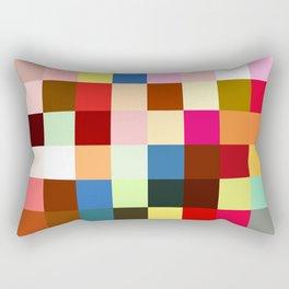 checkered times Rectangular Pillow