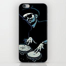 Bongo Beatin' Beatnik (Blue) iPhone Skin