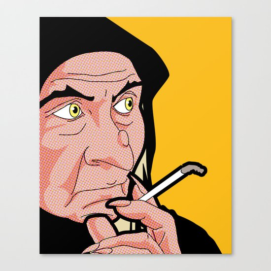 The secret life of heroes - QueenWitchSmoke Canvas Print