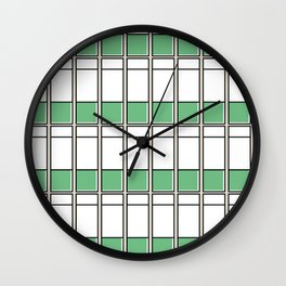 Edificio La Estancia -Detail- Wall Clock