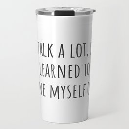Tune Myself Out Travel Mug