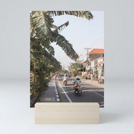 Tropical Road On Bali Island Art Print | Summer Holiday Photo | Digital Indonesia Travel Photography Mini Art Print