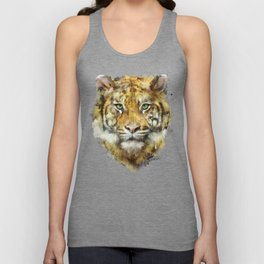 Tiger // Strength Unisex Tank Top